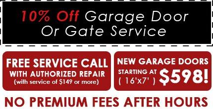Garage Door - San Bernardino, CA - Mountain Service Company - Coupon - 10% Off Garage Door Or Gate Service