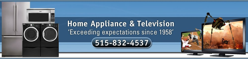 Appliance Center - Webster City, IA - Home Appliance & Television