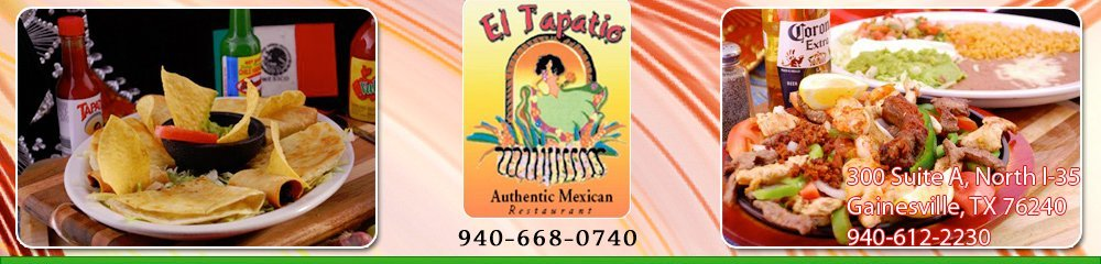 Mexican Restaurant Gainesville, TX - El Tapatio