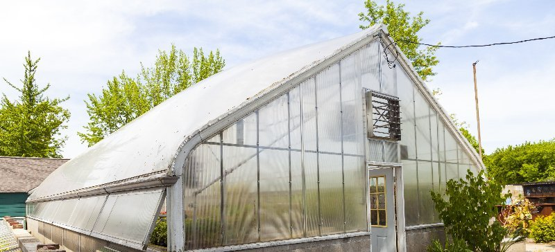 Greenhouse from outside