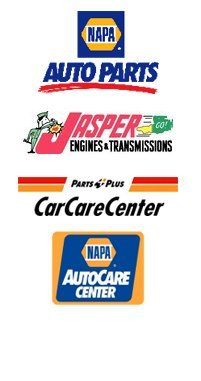 NAPA Auto Parts, Jasper, Parts Plus CarCareCenter, NAPA AutoCare Center logo