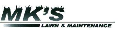 MK's Lawn & Maintenance Logo