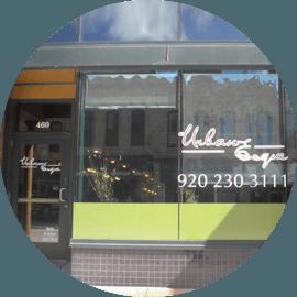 Urban esque salon store front