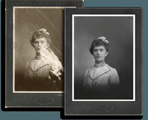 Photo Restoration | Newtown Square, PA | Masterpieces Fine Art & Custom Framing Inc. | 610-356-8255