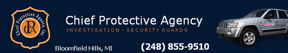 Security Agency Bloomfield, MI - Chief Protective Agency