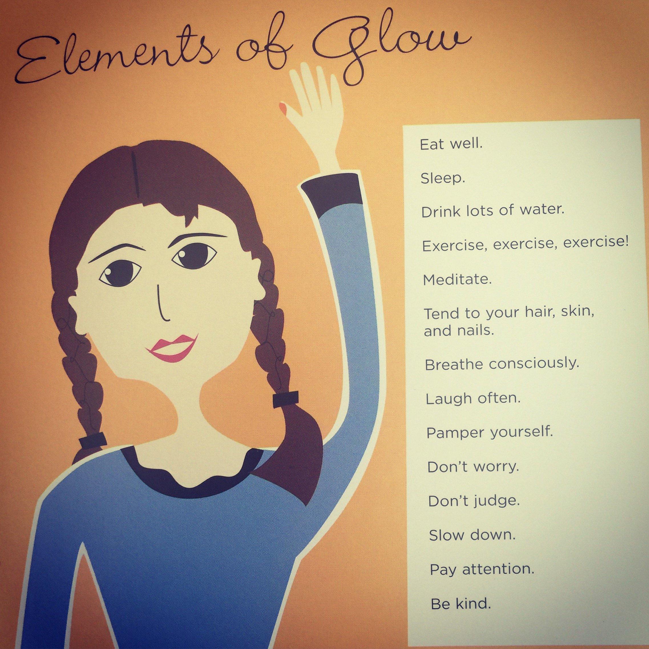 Elements of glow