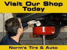 Tire Center - Duncannon, PA - Norm's Tire & Auto