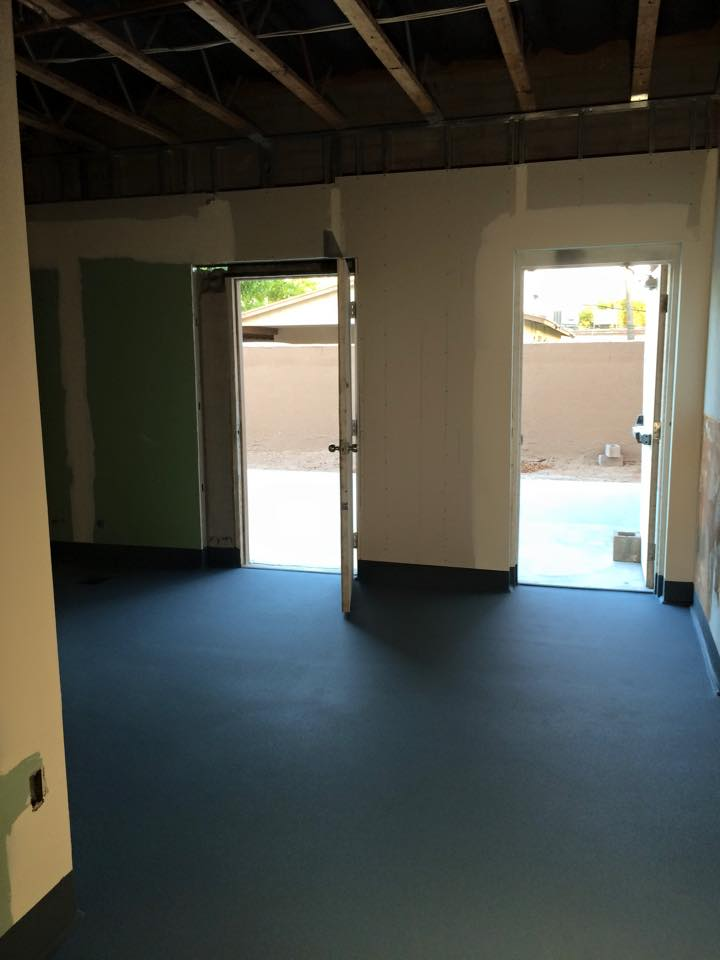 On-site coating