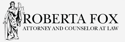 Roberta Fox Attorney and Counselor at Law - Logo