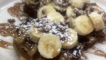 Banana Nut Bread Waffle