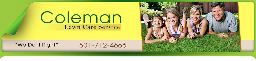 Landscape Contractors - Little Rock, AR - Coleman Lawn Care Service
