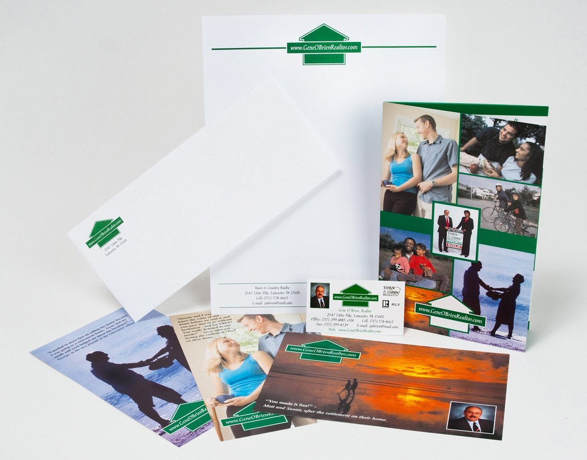 Portfolio example - Gene O'Brien Realtor design