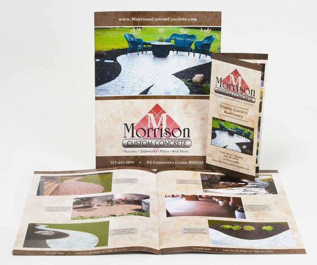 Portfolio example - Morrison Custom Concrete design