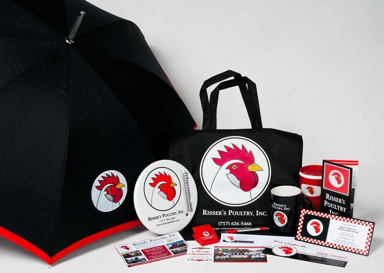 Portfolio example - Risser's Poultry Inc. design