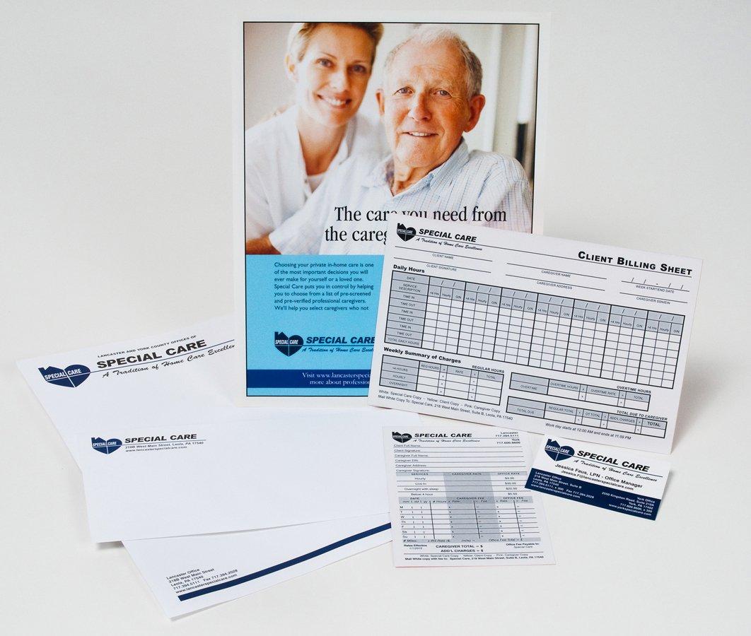 Portfolio example - Special Care Home Health design