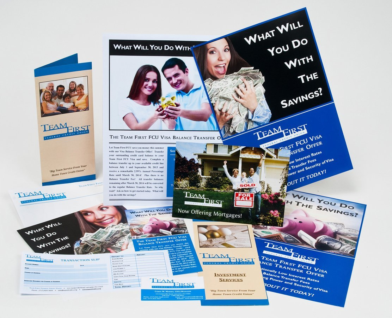 Portfolio example - Team First Federal Credit Union design