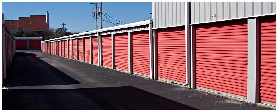 Secured storage unit