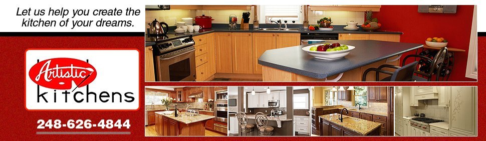 Kitchen Contractor - Farmington Hills, MI - Artistic Kitchens Inc.