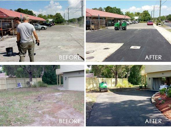 Parking Lots - Saint Petersburg,  FL  33703 - Eagle Asphalt & Seal Coat Inc.