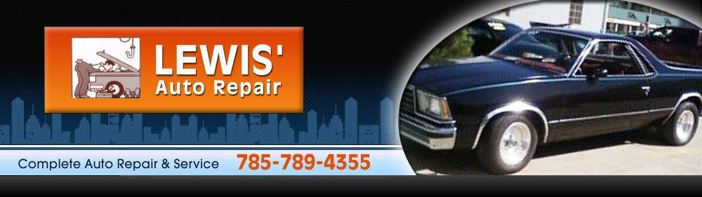 Auto Repair - Manhattan, KS - Lewis' Auto Repair