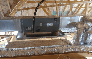 An airconditioning unit