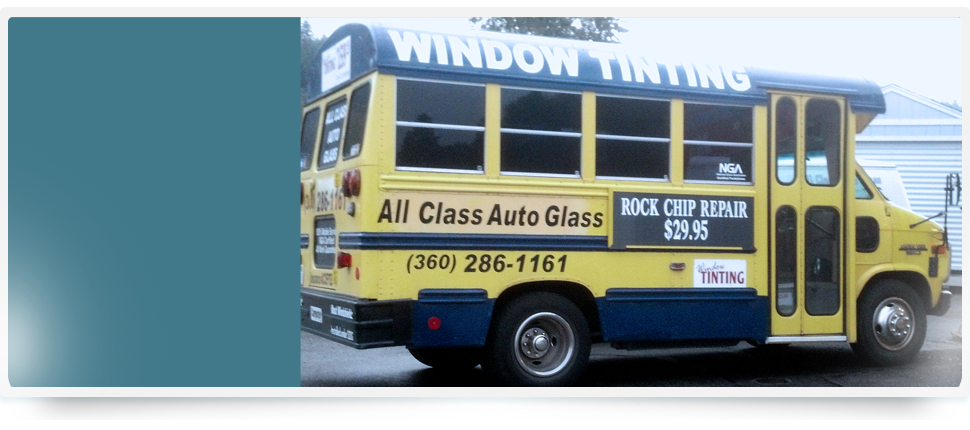 Window Tinting | Bremerton, WA | All Class Auto Glass | 360-373-7710