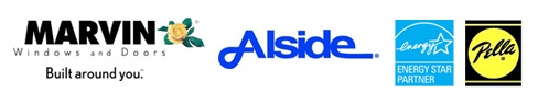 Alside Window & Siding, Energy Star, Pella, Marvin Windows & Doors