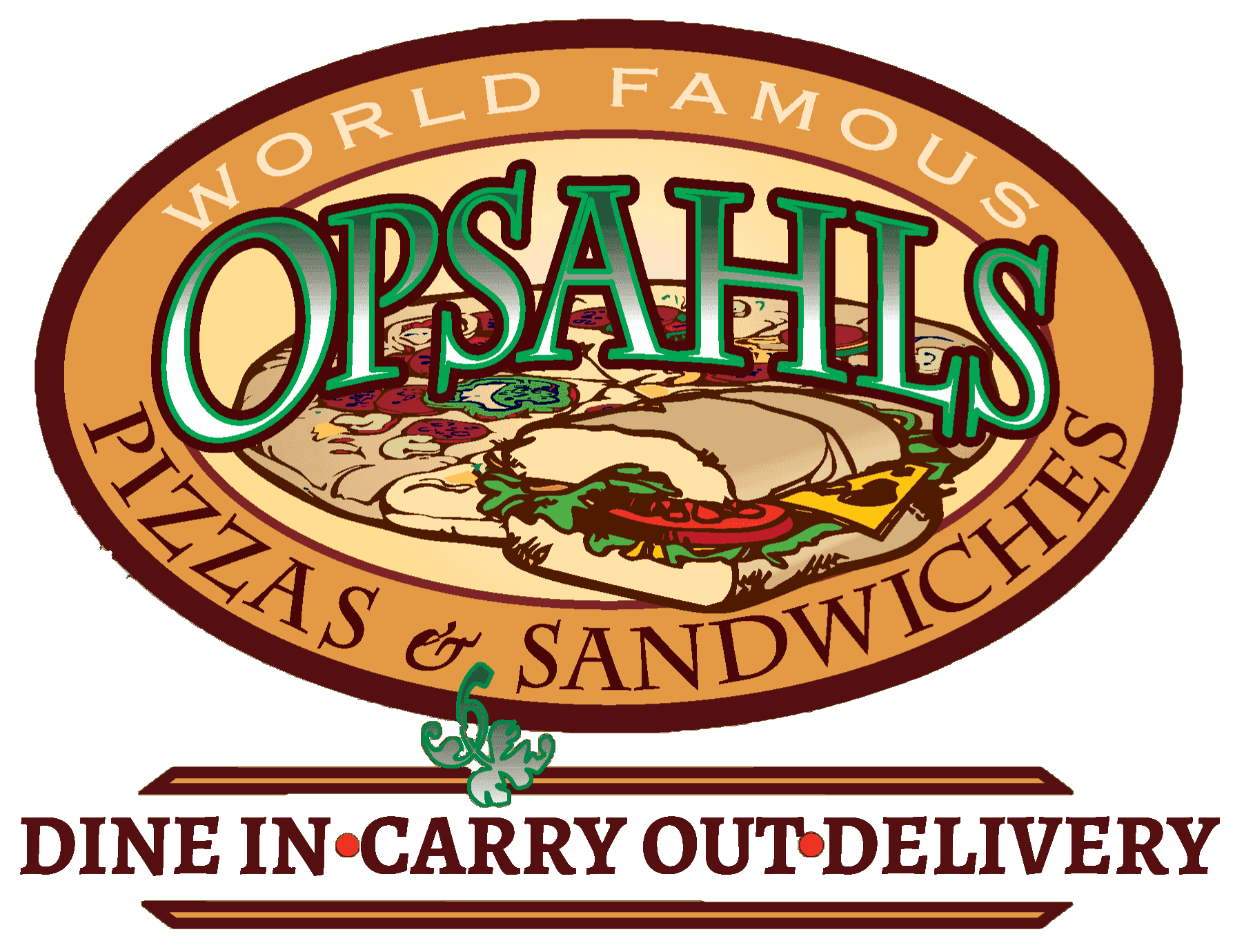 Opsahl's Homemade Pizza - Logo