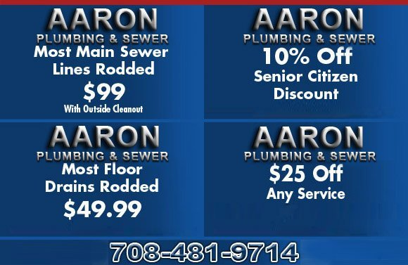 Heaters & Sewer | Chicago, IL | Aaron Plumbing & Sewer | 708-481-9714