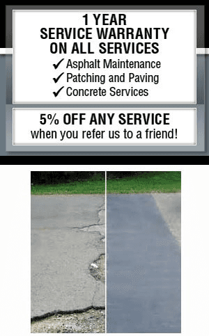 Concrete Services  - Pewaukee, WI - Stone Coatings & Asphalt Maintenance