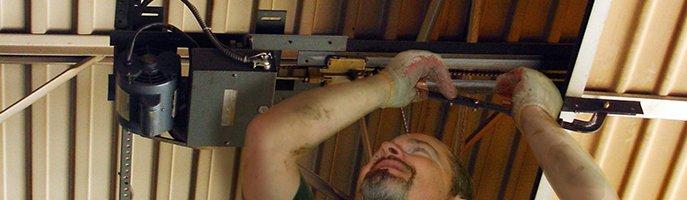Garage door Motor installation
