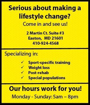 Personal Trainer Easton, MD - BE FITT, LLC