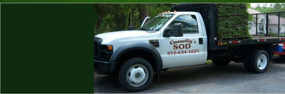 Re-sods | Citrus County, FL  | Connolly's Sod and Nursery | 352-634-1625