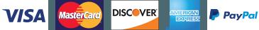 Visa-Mastercard-Discover-AMEX-Paypal