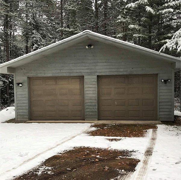 before. Garage door & Badgerland Overhead Door LLC Photo Gallery | Weston WI | Wausau WI