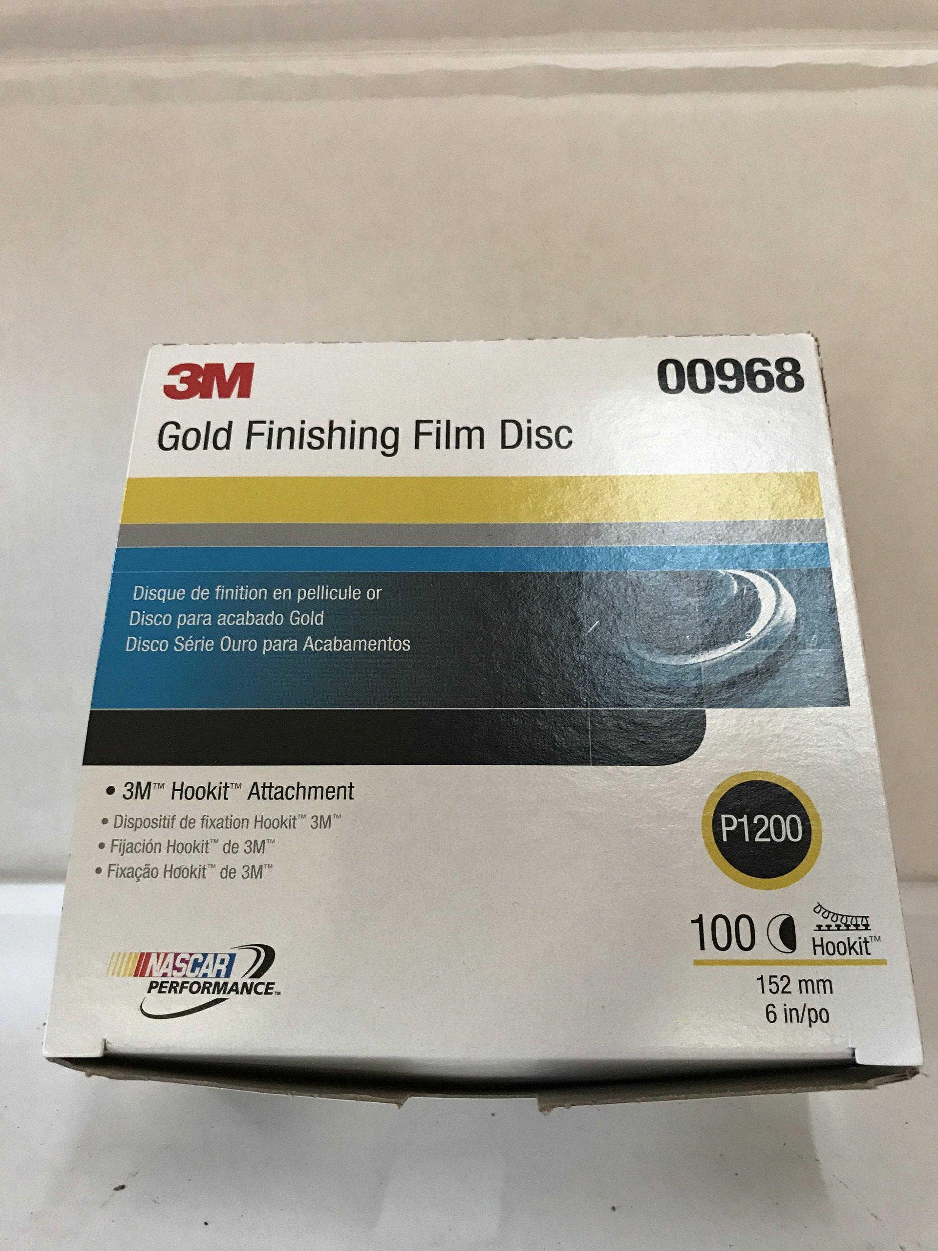 00968 3M GOLD FINISHING FILM DISC