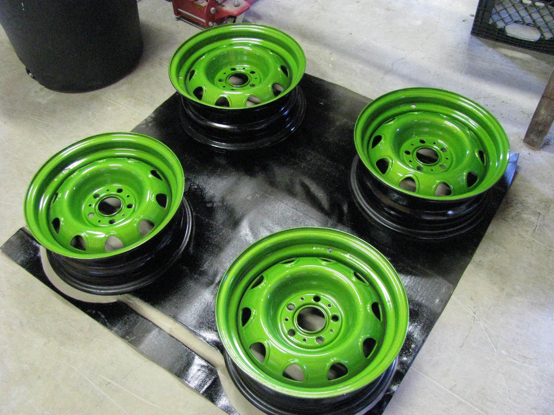 Rims Green after