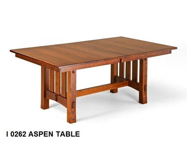 I 0262 Aspen table