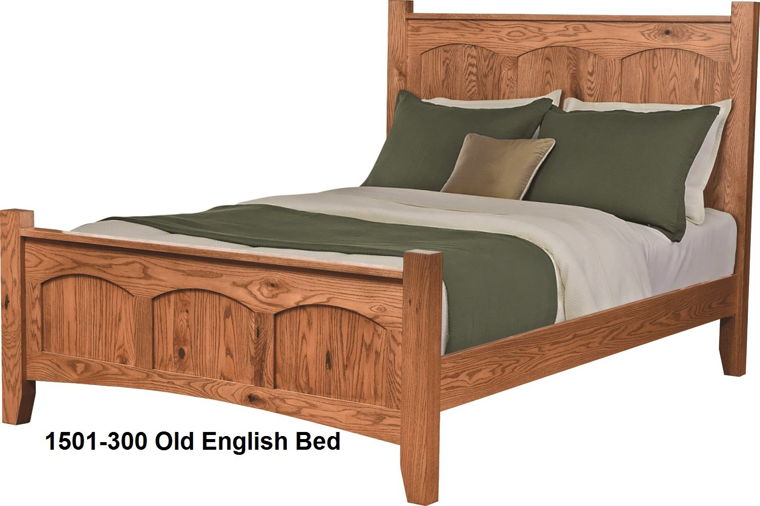 1501-300 Old English Bed