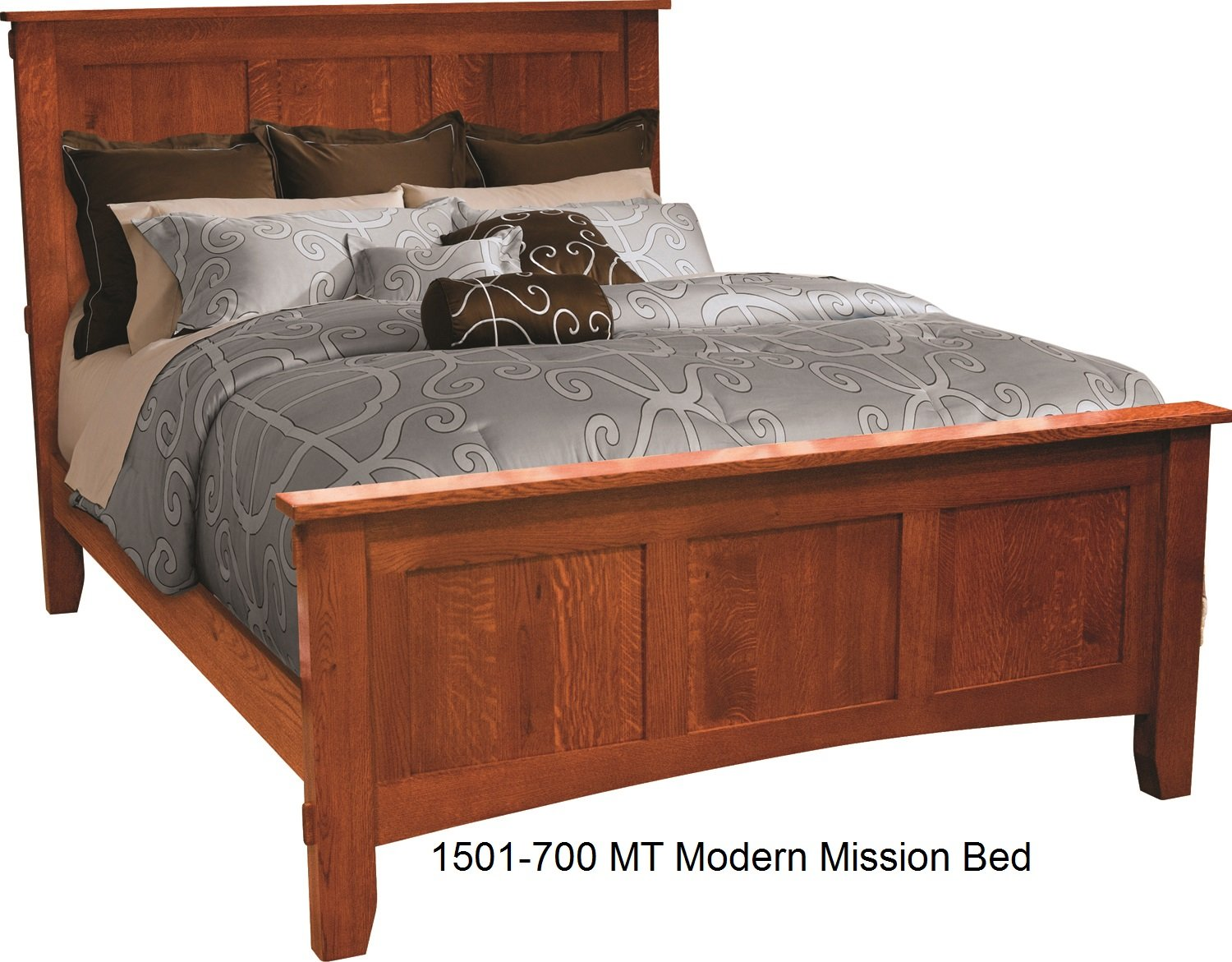 1501-700 MT Modern Mission Queen Bed