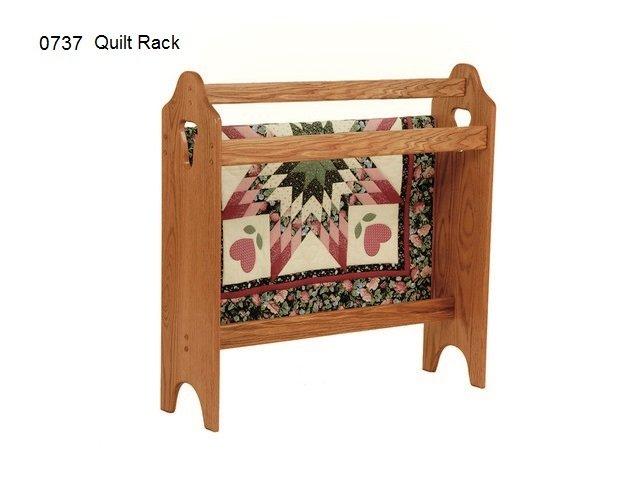 0737 Quilt rack