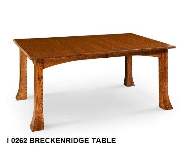 I 0262 Breckenridge table