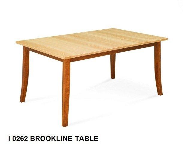 I 0262 Brookline table
