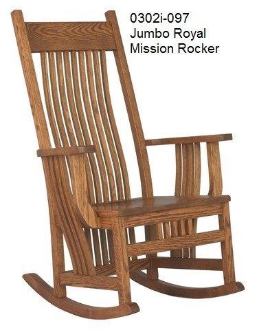 0302 i 097 Jumbo royal mission rocker
