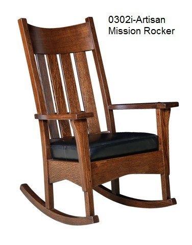 0302 i Artisan mission rocker