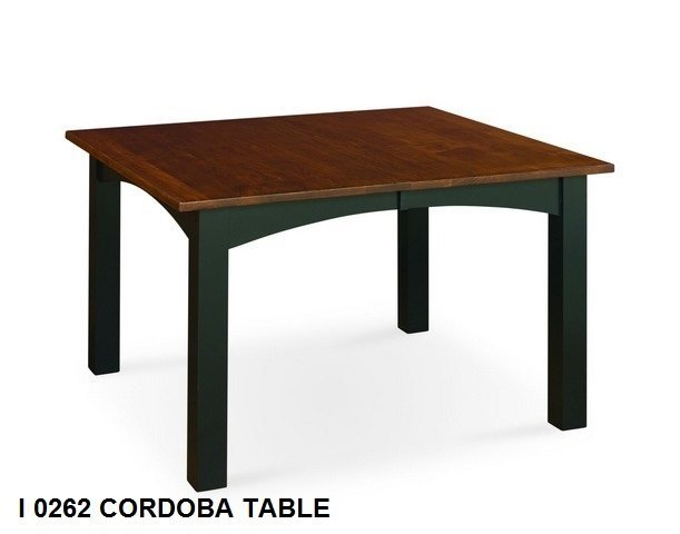 I 0262 cordoba table