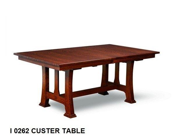 I 0262 Custer table