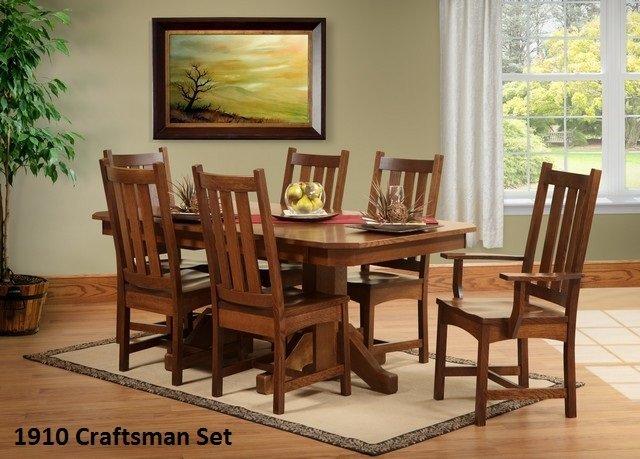 1910 craftsman Dining Set