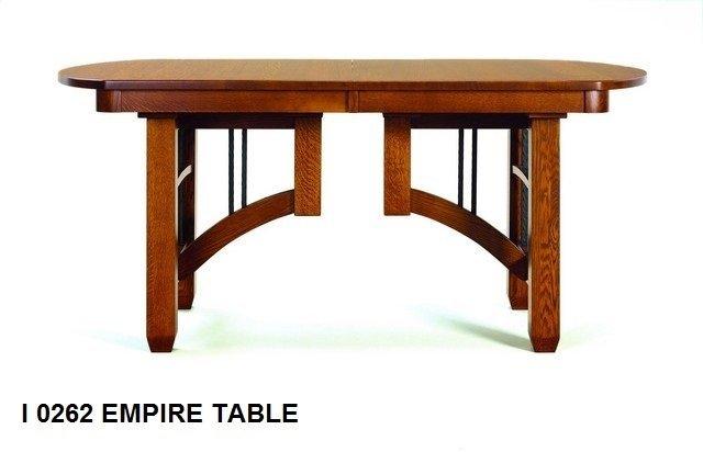 I 0262 Empire table