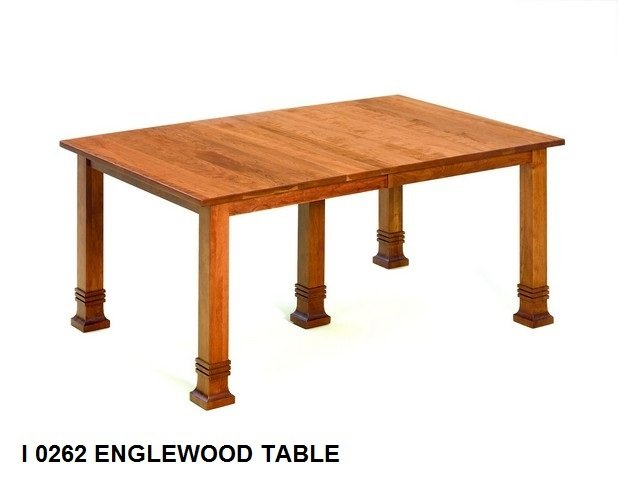 I 0262 Englewood  table
